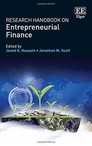 Research Handbook on Entrepreneurial Finance (Research Handbooks in Business and Management Series)
