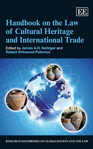 9781783478897: Handbook on the Law of Cultural Heritage and International Trade (Research Handbooks on Globalisation and the Law series)