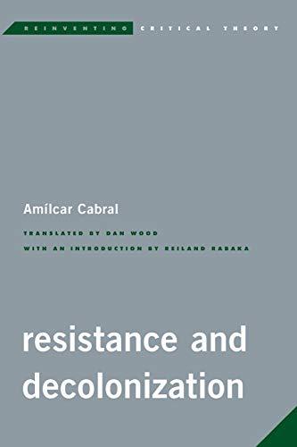 9781783483754: Resistance Amp Decolonization