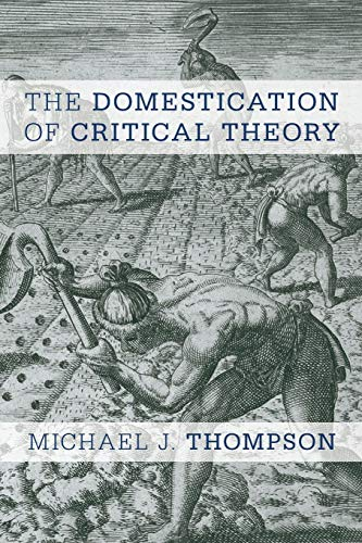 9781783484317: The Domestication of Critical Theory