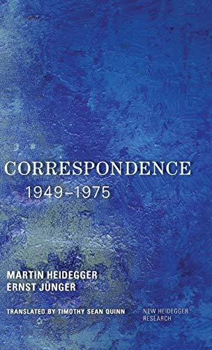 9781783488759: Correspondence 1949-1975 (New Heidegger Research)