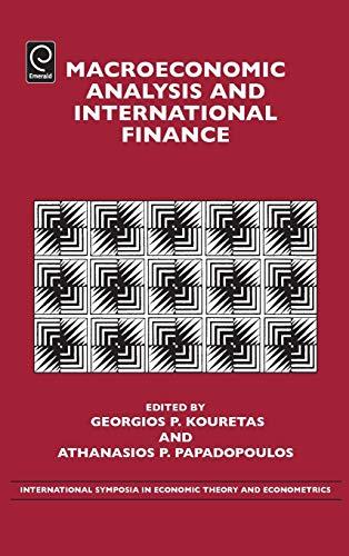 Macroeconomic Analysis and International Finance (International Symposia in Economic Theory and ...