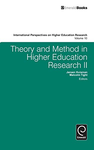 9781783509997: Theory and Method in Higher Education Research II (International Perspectives on Higher Education Research)