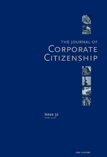 9781783530106: The Corporate Contribution to One Planet Living in Global Peace and Security: A Special Theme Issue of the Journal of Corporate Citizenship