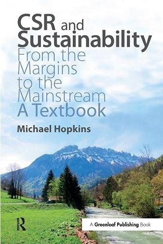 9781783534463: Csr and Sustainability: From the Margins to the Mainstream: a Textbook