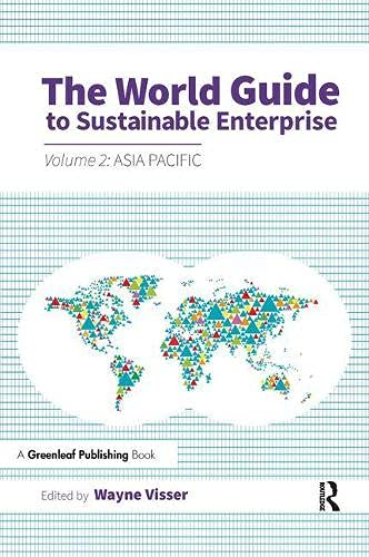 9781783534647: The World Guide to Sustainable Enterprise: Volume 2: Asia Pacific