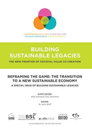 9781783535118: Reframing the Game: The Transition to a New Sustainable Economy: A Special Issue of Building Sustainable Legacies