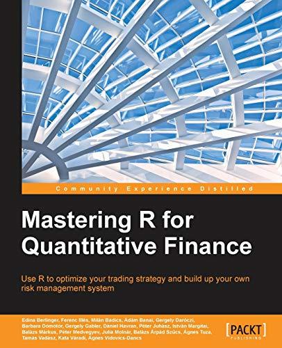 9781783552078: Mastering R for Quantitative Finance