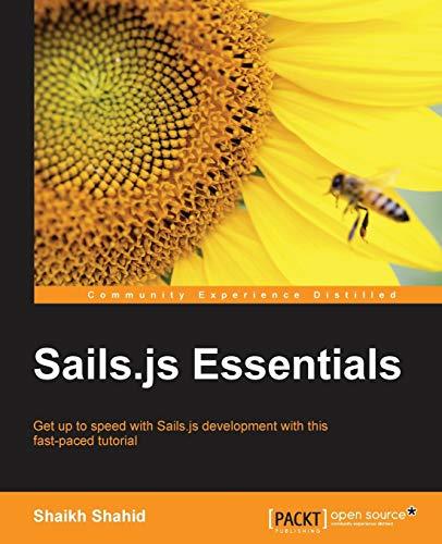 9781783554539: Sails.js Essentials