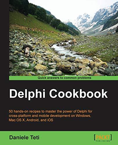 9781783559589: Delphi Cookbook