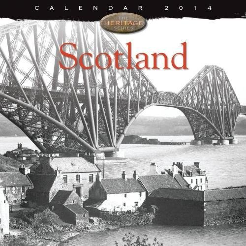 9781783610051: Scotland heritage wall calendar 2014