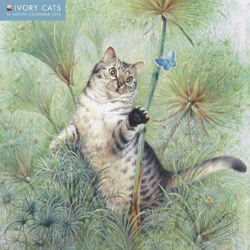 9781783610518: Ivory Cats wall calendar 2015 (Art calendar)