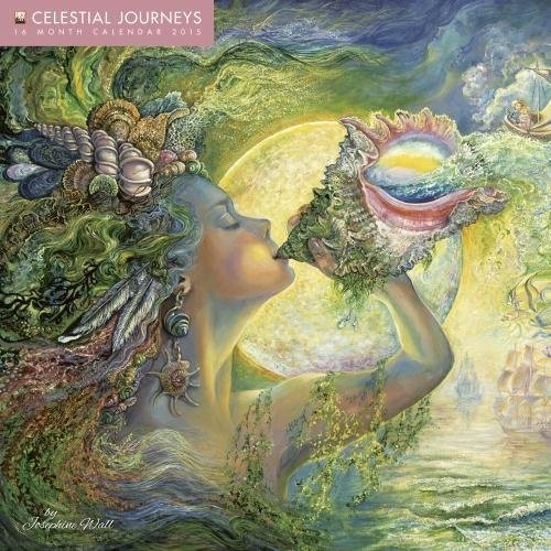 9781783610587: Celestial Journeys wall calendar 2015 (Art calendar) (Flame Tree Calendars 2015)