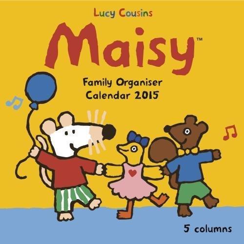 9781783610730: Maisy family organiser wall calendar 2015 (Art calendar) (Flame Tree Calendars 2015)