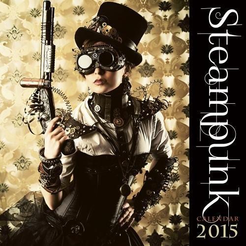 Steampunk 2015 Square 12x12 Flame Tree: Flame Tree Publishing