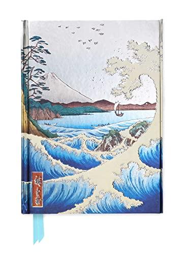 Hiroshige: The Sea at Satta (Foiled Journal)