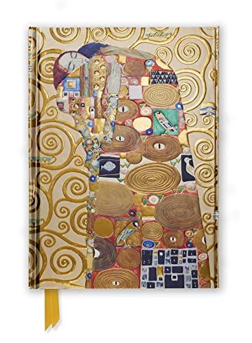 Klimt Fulfilment, Stoclet Frieze (Foiled Journal) (Flame Tree Notebooks)