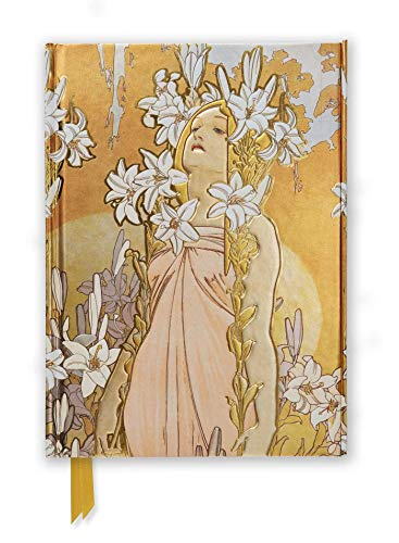9781783611966: Mucha: The Flowers, Lily (Foiled Journal) (Flame Tree Notebooks)