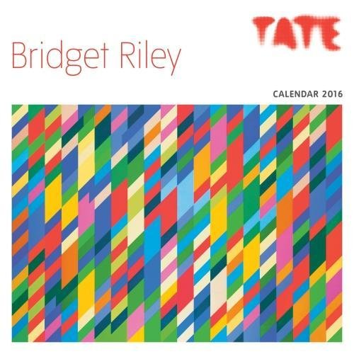 9781783614264: Tate Bridget Riley Wall Calendar 2016