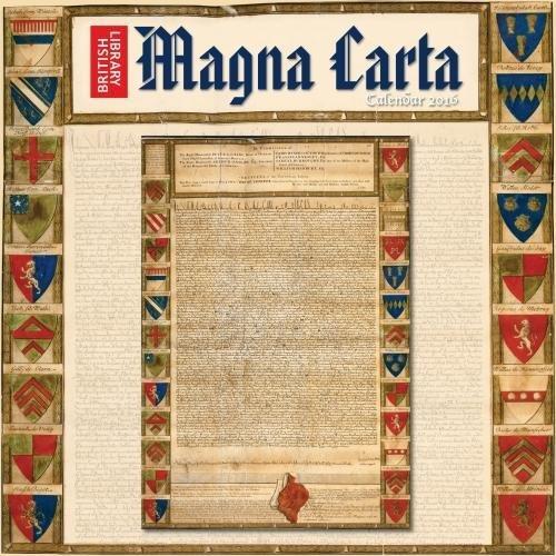 British Library - Magna Carta Wall Calendar 2016