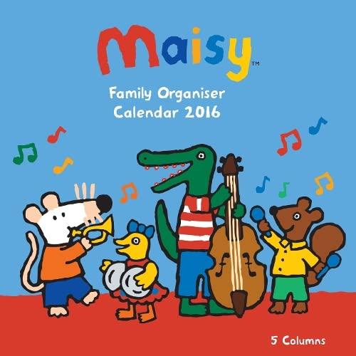 9781783615261: Maisy family organiser wall calendar 2016 (Art calendar)
