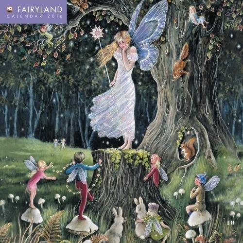 9781783615360: Fairyland mini wall calendar 2016 (Art calendar)