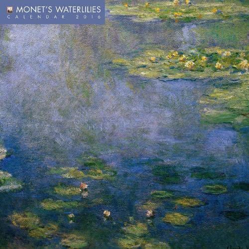 9781783615421: Monet's Waterlilies mini wall calendar 2016 (Art calendar)