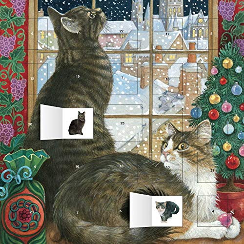 9781783615698: Ivory Cats Christmas Window advent calendar (with stickers)