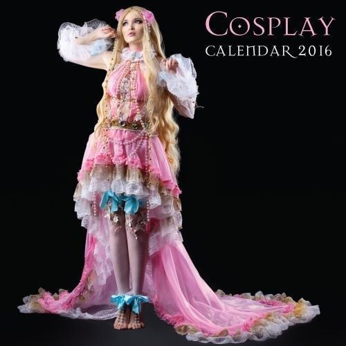 Cosplay wall calendar 2016 (Art calendar)
