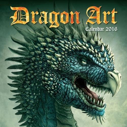 9781783615827: Dragon Art Wall Calendar 2016 (Art Calendar)