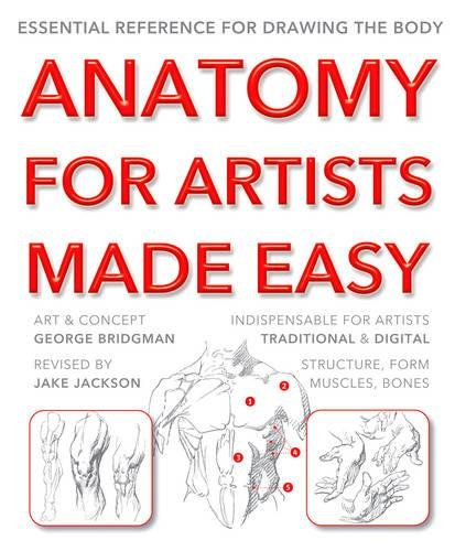 Anatomy for Artists Made Easy: Essential reference for drawing the body (Paperback)