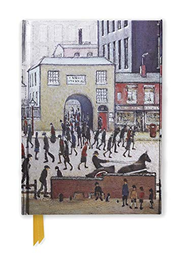 Coming from the Mill by L. S. Lowry (Flame Tree Notebooks)