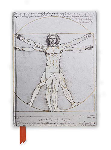 9781783616671: Da Vinci's Vitruvian Man (Foiled Journal) (Flame Tree Notebooks)