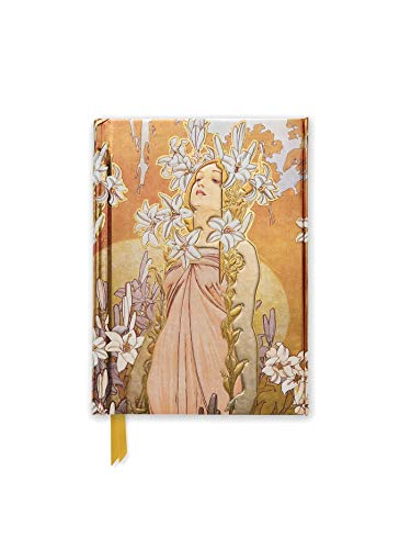 9781783616831: Alphonse Mucha The Flowers: Lily (Foiled Pocket Journal) (Flame Tree Pocket Books)