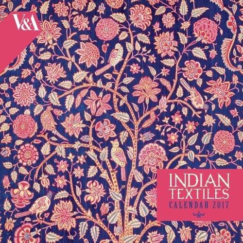 9781783617302: V&A - Indian Textiles Wall Calendar 2017