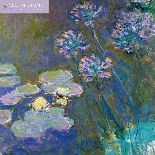 9781783617449: Claude Monet wall calendar 2017 (Art calendar)