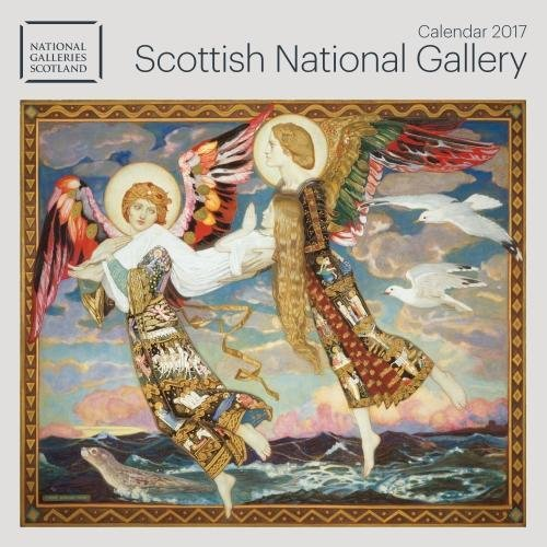 9781783617616: Scottish National Gallery wall calendar 2017 (Art calendar)