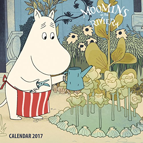 9781783619078: Moomins on the Riviera mini wall calendar 2017 (Art calendar)