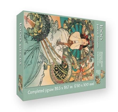 9781783619429: Monaco: Monte Carlo Poster by Alphonse Mucha: 1000 piece jigsaw (1000-piece jigsaws)