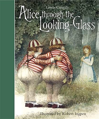 9781783701841: Alice Through the Looking-Glass (Templar Classics: Ingpen)