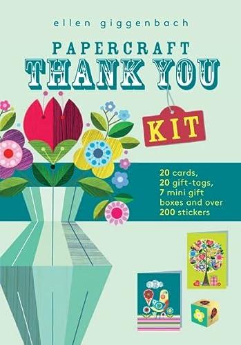 Ellen Giggenbach: Papercraft Thank You Kit