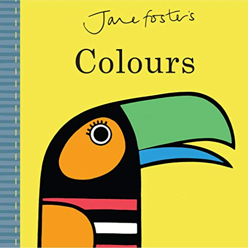 Jane Foster's - Colours: Cased Board Book