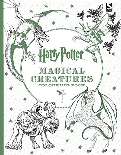 9781783705825: Harry Potter Coloring Book. Magical Creatures
