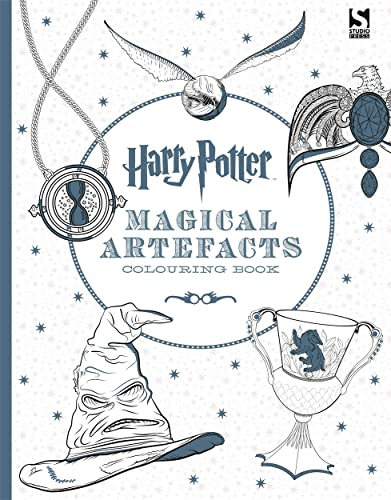 9781783705924: Harry Potter Colouring Book 4. Magical ...