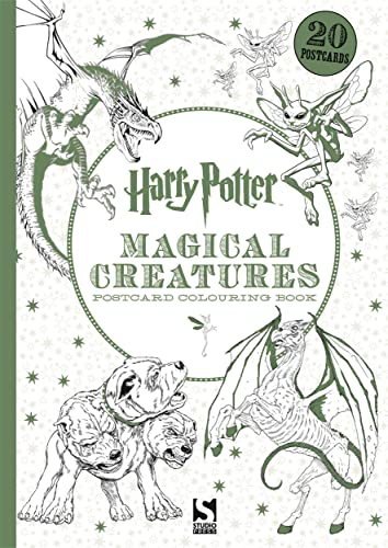 9781783705955: Harry Potter Magical Creatures Postcard Book: 20 postcards to colour