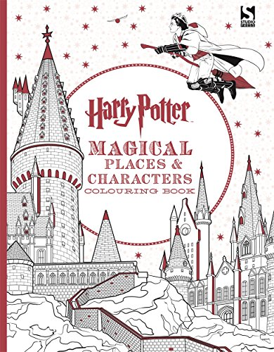 9781783706006: Harry Potter Magical Places and Characters Colouring Book