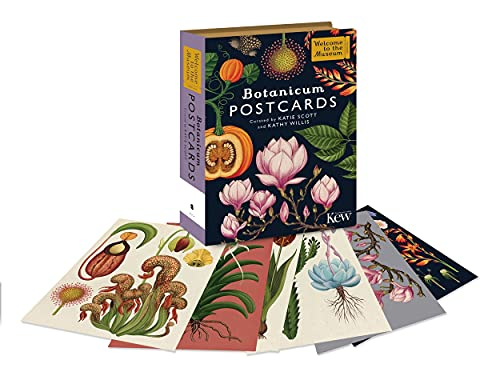 Botanicum Postcards (Welcome To The Museum): Kathy Willis, Katie