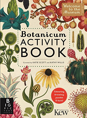 Botanicum Activity Book (Paperback): Katherine Willis, Katie