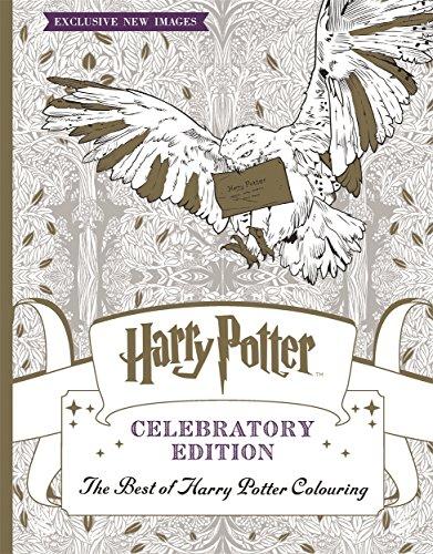 9781783708253: Harry Potter Colouring Book Celebratory Edition: The Best of Harry Potter colouring