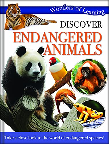 9781783730056: Wonders of Learning - Discover Endangered Animals